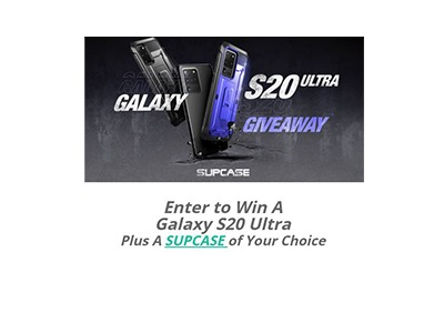 Samsung Galaxy S20 Smartphone Giveaway