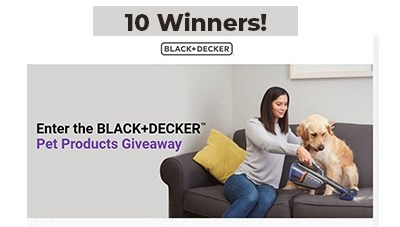 Black + Decker Pet Products Giveaway