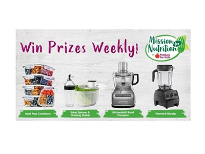 Mission for Nutrition Sweepstakes