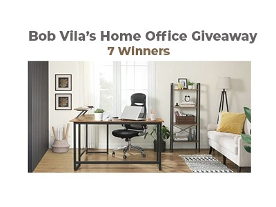Bob Vila's Reboot Your Home Office Giveaway