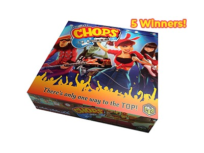 CHOPS! The Rock and Roll Family Game Giveaway