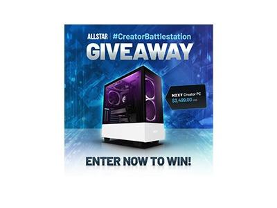 Allstar NZXT Creator PC Giveaway