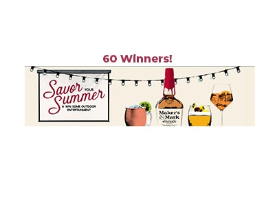 Savor Summer with Maker's Mark Bourbon Sweepstakes