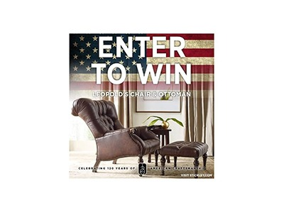 Stickley Furniture Leopold's Chair and Ottoman Giveaway
