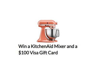 California Cantaloupe's KitchenAid Mixer and $100 Visa Gift Card Giveaway
