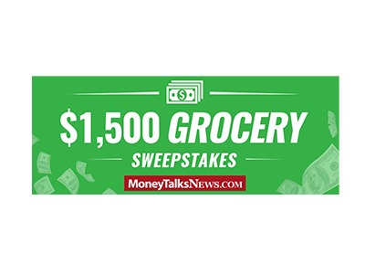 Money Talks News — $1,500 Grocery Sweepstakes