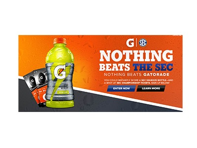 Nothing Beats Gatorade Sweepstakes