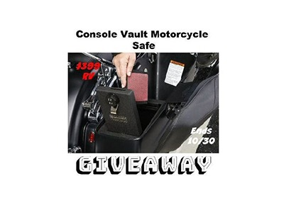 Console Vault Motorcycle Safe Giveaway