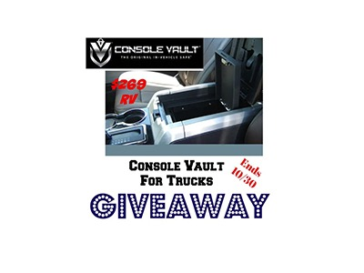 Console Vault For Trucks Giveaway