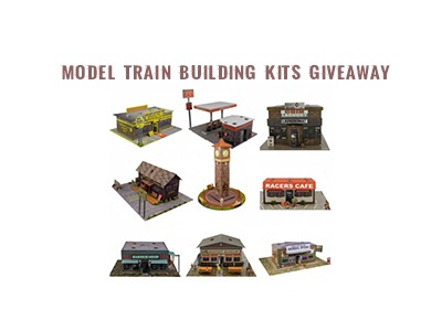 Free Model Train Building Kits Giveaway