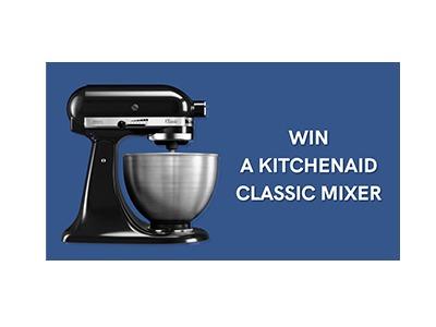 FoodEnvee Kitchenaid Mixer Giveaway