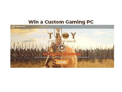 Intel Total War Saga: Troy Sweepstakes