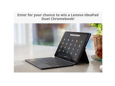 Lenovo IdeaPad Duet Chromebook Giveaway