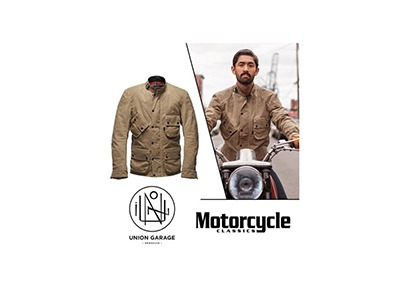 Motorcycle Classics Union Garage Giveaway