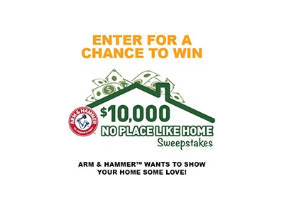 Arm & Hammer No Place Like Home Sweepstakes