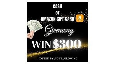 Get Glowing Amazon Gift Card Giveaway