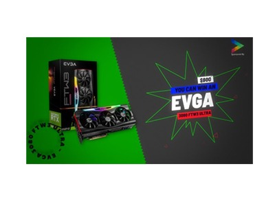 EVGA GeForce RTX 3080 FTW3 ULTRA Gaming Card Giveaway