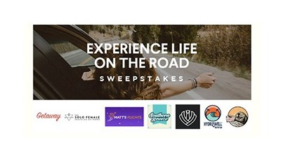 Experience Life on the Road Sweepstakes