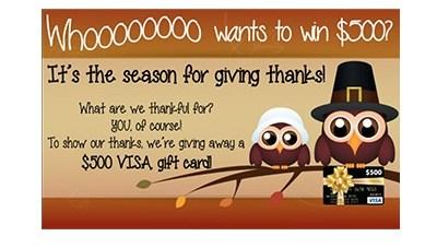 Express Medical Supply Visa Gift Card Giveaway