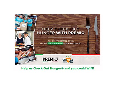 Premio Foods 2020 Check-Out Hunger Contest