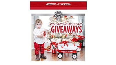 Radio Flyer 25 Days of Holiday Giveaways 2020