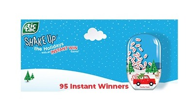 Tic Tac Shake Up the Holidays Game 2020