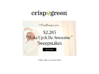 Wake Up & Be Awesome Sweepstakes