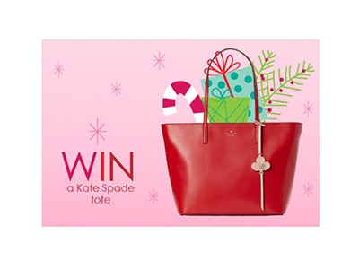 Jingle All the Kate Spade Tote Giveaway