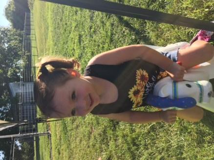 Sunflowers cute little girl and shirt 2018