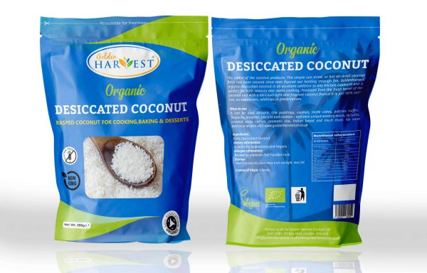 ORGANIC DESICCATED COCONUT-250g