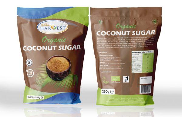 Golden Harvest Organic Coconut Palm Sugar -250g