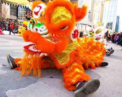 jing wo lion dance calgary 2014