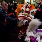 jing wo lion dance calgary 2014 chinese new year