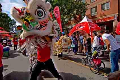jing wo lion dance calgary 2014 chinese chinatown street festival