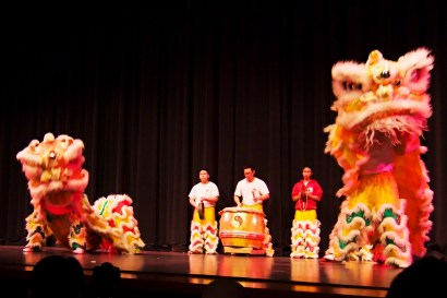 lion dance highwood school chinese new year 2015 concert