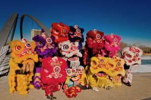 jing wo lion dance calgary 2015 chinese new year east village ev