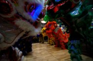 jing wo lion dance calgary 2015 central alberta refugee effort red deer alberta C.A.R.E.