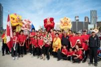 jing wo lion dance calgary 2016 chinese stampede parade