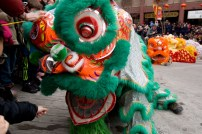 jing wo lion dance calgary 2017 CNY chinese new year sunridge nissan quickly bubble tea east-village east village