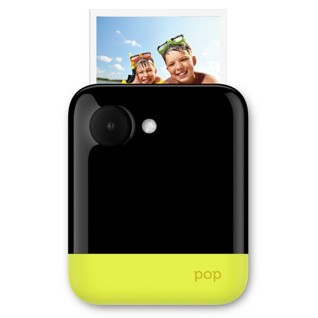 """Polaroid POP 3×4"""" Instant Print Digital Camera with ZINK Zero Ink Printing Technology – Yellow for $89.76"""