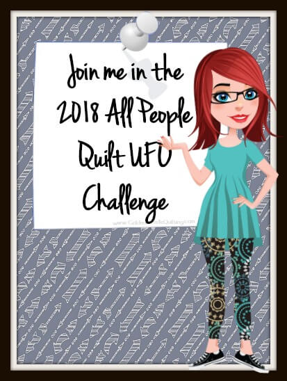 2018 All People Quilt UFO Challenge