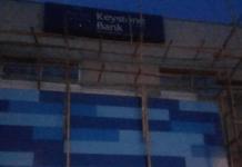 BREAKING: One dies as Keystone bank building collapses in Lagos