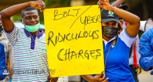 Uber and Bolt drivers