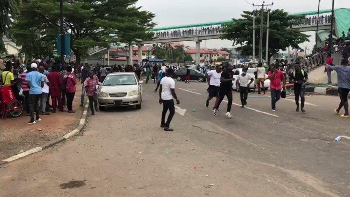 EndSARS protesters