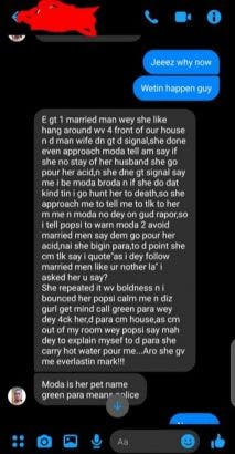 Sister pours hot water on brother after he confronted her for dating married man