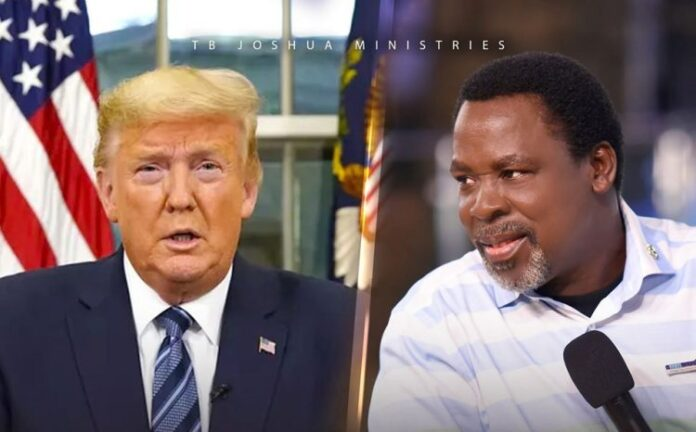 Video: Prophet TB Joshua Tells Trump What To Do Over US Election 2020