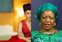'You Should Be Ashamed' – Adesua Drags President Buhari's Aide, Lauretta Onochie After She Posted This Picture