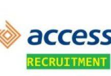 Access Bank Plc recruitment