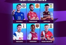 Nominees for the Premier league player of the month for November.