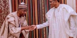 Buhari, Zulum meet in Aso Villa